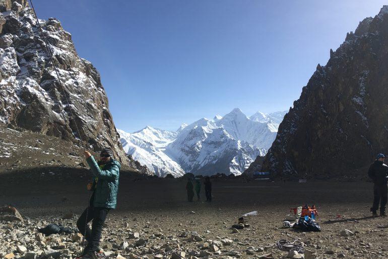 Traumkulisse im Klettergebiet Zarthgurben