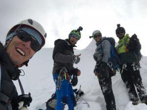 Lop Zarth - Endlich am Gipfel