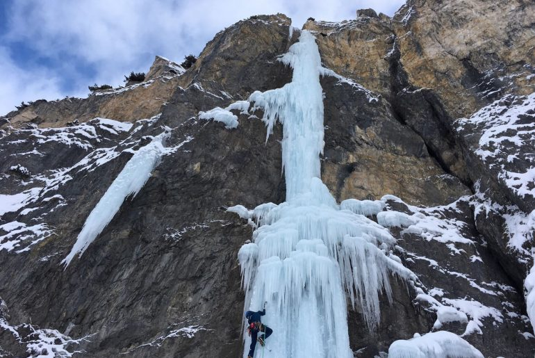 Schwere Eisklassiker: Eisklettern in Tirol: Dezember 2017