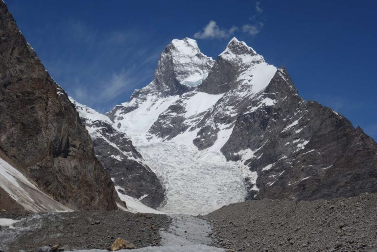 Karakorum-Expedition (1): First Ascent of Black Tooth (6718m)