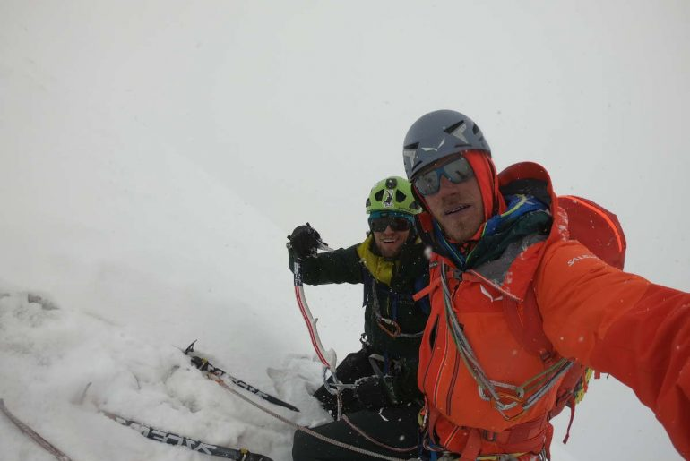 Karakorum-Expedition (2): First Ascent of Black Tooth (6718m)