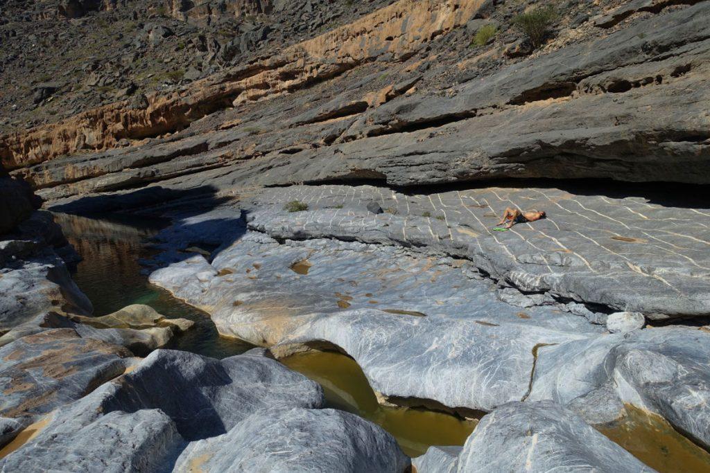 Chillen im Wadi